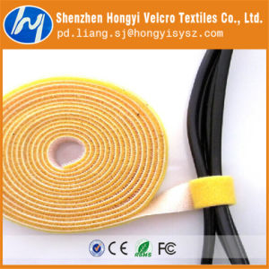 Reusable Multicolor Fasteners Hook & Loop Velcro Cable Tie Roll pictures & photos