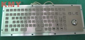 Industrial Computer Metal Keyboard with Trackball (KMY299H-1) pictures & photos