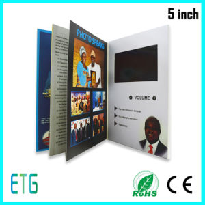 Promotional 4.3 Inch LCD Video Book pictures & photos