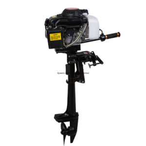 China Air Cooled 4 Stroke 3.6HP Hangkai Outboard Engine pictures & photos