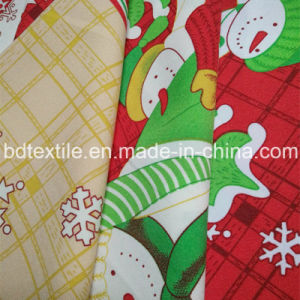 Christmas Printed Minimatt for Table Cloth! 100%T, 240G/M, Easy to Wash and Dry pictures & photos