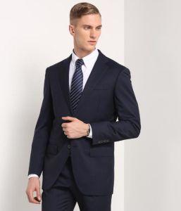 Business Slim Fit Black Men′s Suit pictures & photos