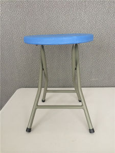 Small Round Folding Chair for Finishing Use pictures & photos