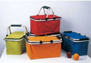 Collapsible Shopping Basket Foldable Carry Basket pictures & photos
