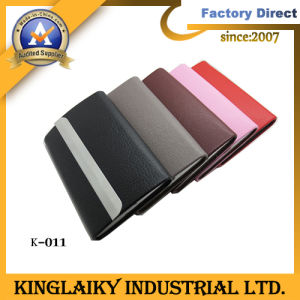 Promotional Gift Business Card Holder with Customized Logo (K-011) pictures & photos