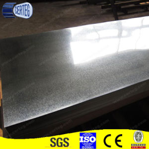 Hot Dipped Galvanized Dx51d Plain Steel Sheet pictures & photos
