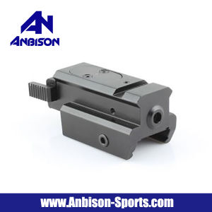 Tactical Pistol Under Rail Mount with Red DOT Laser pictures & photos