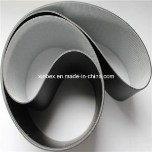 Black PVC Thickness 2.0/3.0mm Checkout Counter Conveyor Belt for Supermarket pictures & photos