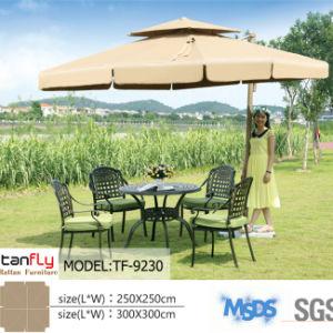 Outdoor Furniture Commercial Parasol Double Top Sun Umbrella pictures & photos