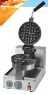 1-Plate Rotating Waffle Baker pictures & photos