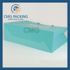 Blue Printing Matt Lamination Gift Paper Bag (DM-GPBB-138) pictures & photos