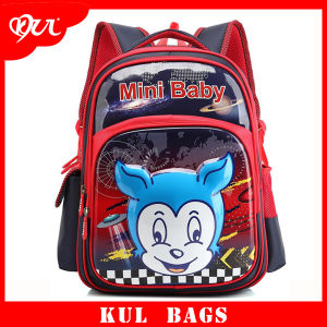 Promotional Printing Cute Cartoon 3D School Backpack for Boys
