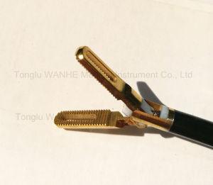 Laparoscopic Instruments Golden Bipolar Coagulating Forceps pictures & photos