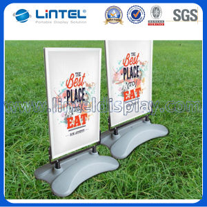 Double Sided Pavement Sign Outdoor Stand Snap Frame (LT-10G1) pictures & photos