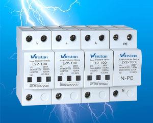 Single Phase Electric SPD 20ka 40ka 100ka Surge Protective Device with CE pictures & photos