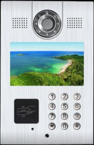 High Quality New Design IP Video Intercom System for Buildings Apartments Outdoor Unit pictures & photos