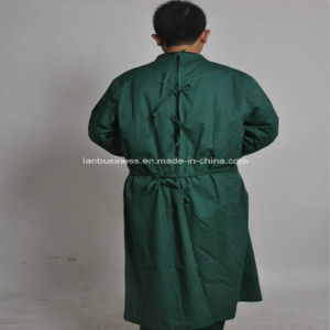 Ly Back Open Reusable Reinforced Hospital Surgical Gowns pictures & photos