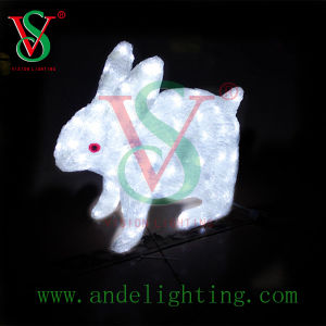 LED 3D Motif Light Rabbit Light Animal Motif Light pictures & photos