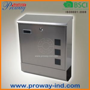 Outdoor Waterproof Stainless Steel Mailbox (PWA-651-SS) pictures & photos