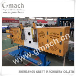 Double Piston Backflush Screen Changer with 4 Screen Cavities for Twin Screw Extruder pictures & photos
