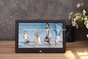TFT LCD Screen 10inch Digital Photo Frame Picture for Video Motion Sensor Adertising Display
