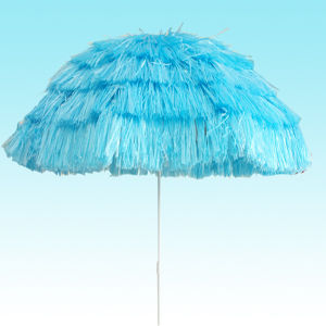 Beach Umbrella, Hawaiian Parasol Beach Umbrella Sun Shade Patio with Tilt Function New