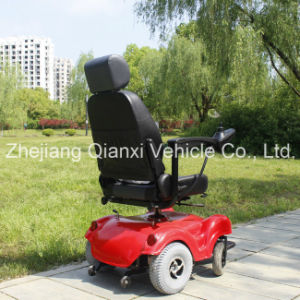 Outdoor up Leather Electric Power Wheelchair for Disably and Elderly People (XFG-105FL) pictures & photos