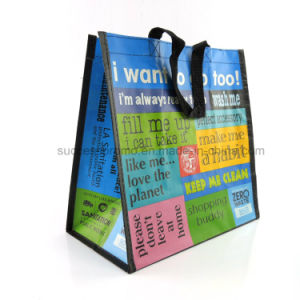 PP Non Woven Bag, RPET Shopping Bag, Reusable Tote Handbag pictures & photos