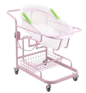 Air Spring Tilting Hospital Bassinet for Baby pictures & photos