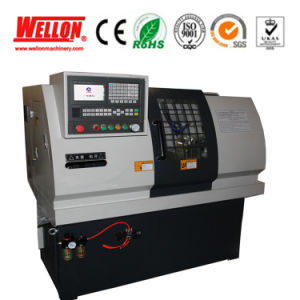 Economic CNC Lathe Machine with CE Approved (Mini CNC Lathe J32 J35) pictures & photos