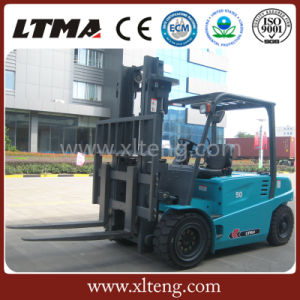 Ltma Battery Forklift 5 Ton Electric Forklift with 1220mm Fork pictures & photos