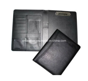Office PU Leather Presentation File Folder with Clip pictures & photos