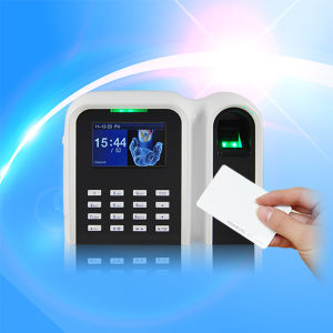 Standalone Fingerprint Time Attendance with RFID Card Reader (free software) pictures & photos