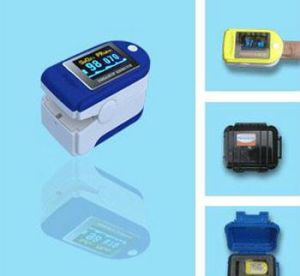 Low Price OLED Display SpO2 Sensor/Finger Pulse Oximeter pictures & photos