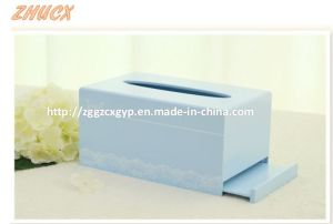 Napkin Box Wooden Napkin Box Tissue Box Creatively Crafts Cx-Tb05 pictures & photos