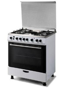 Free Standing 5 Gas Burners Stove with Oven pictures & photos