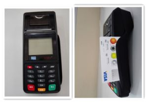 Wireless POS Machine with EMV pictures & photos