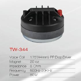 High Qualty PRO Speaker Driver Tweeter (Tw-344) pictures & photos
