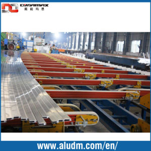Energy Saving Aluminium Profile Extrusion Machine in Profile Cooling Conveyor Tables/Handling System Conveyor pictures & photos