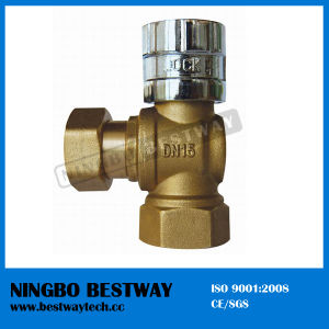 Brass Lockable Ball Valve with Magnetic Lock Cap (BW-L06) pictures & photos