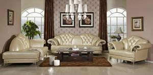 Modern Leather Sofa with European Style pictures & photos