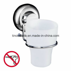 Toothbrush Holder with Rubber Suction Cup, Bathroom Accessories, Tumbler Holder with Cup