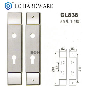 Pressure Casting Stainless Steel Main Door Lock (GL838) pictures & photos
