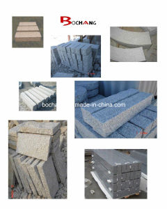 Flamed G640 Grey Granite Paving Stone for Outdoor Decoration pictures & photos