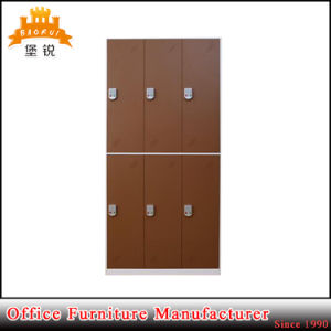 Jas-028 6 Door Used Stadium Locker/Sports Gym Metal Locker/Steel Office Cabinet pictures & photos