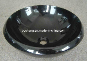 Blue Pearl Granite Marble Wash Basin for Home Decoration pictures & photos