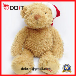 Hot Sale Christmas Decoration Plush Teddy Bear with Hat pictures & photos