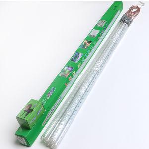 colorful led meteor shower rain tube lights for christmas