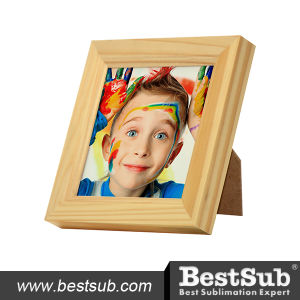 "Bestsub 4.25""*4.25 Wooden Photo Frame (TMK01) pictures & photos"