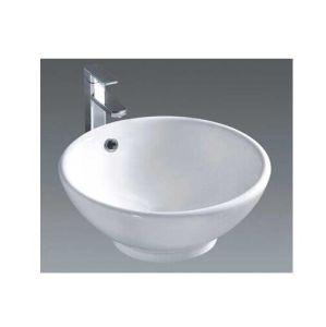 Bathroom Ceramic Sanitary Wares Cabinet Wash Art Basin (7008A) pictures & photos